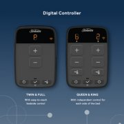 digital controller for bed twin and full with easy to reach bedside control and queen and kin with independent control for each side of the bed image number 3