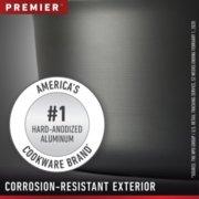 Calphalon Premier™ Hard-Anodized Nonstick 7-Quart Sauteuse & Cover image number 6