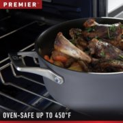 Calphalon Premier™ Space-Saving Hard-Anodized Nonstick Cookware, 8-Quart Stock Pot with Cover image number 5