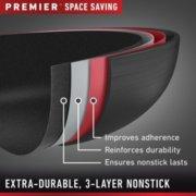 Calphalon Premier™ Space-Saving Hard-Anodized Nonstick Cookware, 10-Piece Set image number 2
