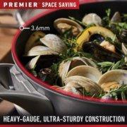 Calphalon Premier™ Space-Saving Hard-Anodized Nonstick Cookware, 10-Piece Set image number 3
