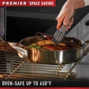 Calphalon Premier™ Space-Saving Stainless Steel 10-Piece Set image number 5