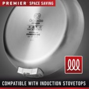 Calphalon Premier™ Space-Saving Stainless Steel 10-Piece Set image number 6