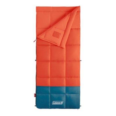 Kompact 40°F/16C Rectangle Sleeping Bag, Tiger Lily