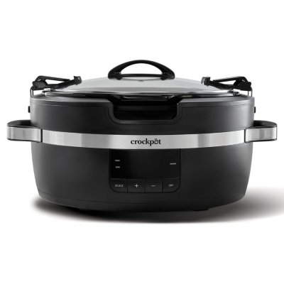 Crockpot™ 6-Quart ThermoShield™ Cook and Carry™ Slow Cooker, Programmable, Black