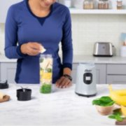 Oster®  MyBlend Personal Blender with Impact Resistant & BPA-Free 20oz Portable Cup, Silver image number 3