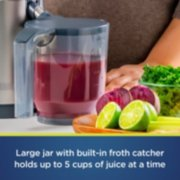 large jar with built in froth catcher holds up to 5 cups of juice image number 4