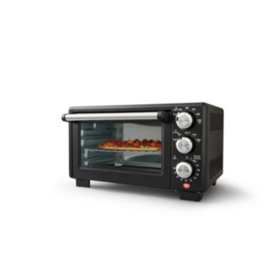 Oster® Convection 4-Slice Toaster Oven, Matte Black, Convection Oven and Countertop Oven