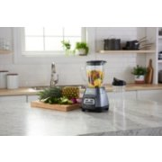 Oster® Master Series Blender with Texture Select Settings,  Blend-N-Go Cup and Glass Jar, Grey image number 4
