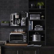 Calphalon Quartz Heat Countertop Oven, Dark Stainless Steel image number 10
