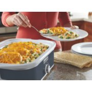 Crockpot™ 3.5-Quart Casserole Crock™ Slow Cooker, Manual, Charcoal image number 1