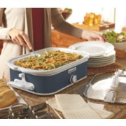 Crockpot™ 3.5-Quart Casserole Crock™ Slow Cooker, Manual, Charcoal image number 2