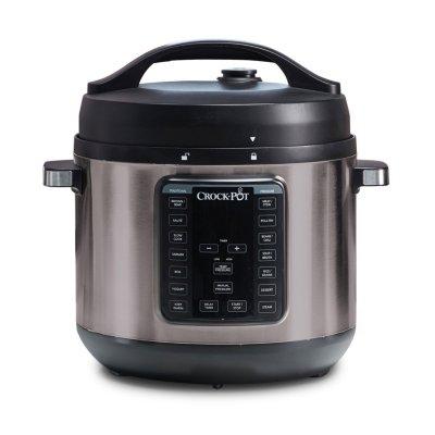 Crockpot™ 8 Quart Express Crock Pressure Cooker, Black Stainless