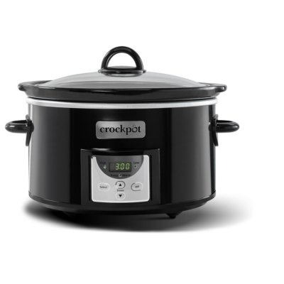 Crockpot™ 4-Qt. Digital Countdown Slow Cooker, Black