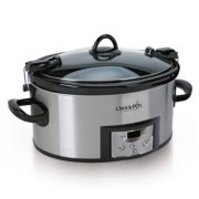 Crockpot™ 6.0-Quart Cook & Carry™ Slow Cooker, Programmable, Stainless Steel image number 1