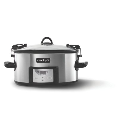 Crockpot™ 6-Quart Cook & Carry™ Slow Cooker, Programmable