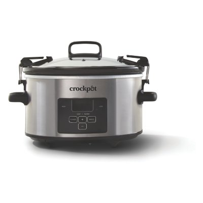 Crockpot™ 4-Quart Cook & Carry Slow Cooker, Programmable Slow Cooker
