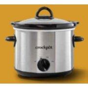 Crockpot™ 3-Quart Slow Cooker, Manual, Silver image number 0