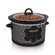 Crockpot™ 4.5-Quart Slow Cooker, Manual, Black/White Pattern image number 0