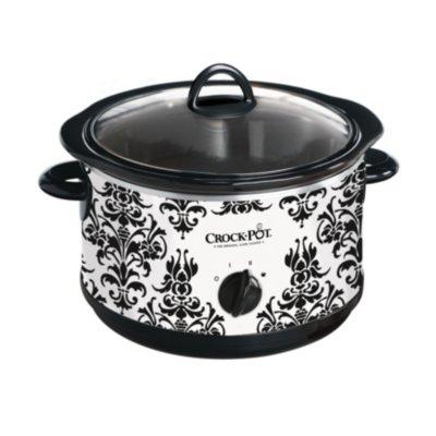 Crockpot™ 4.5-Quart Slow Cooker, Manual, Damask Pattern