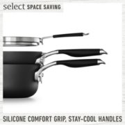 Select by Calphalon™ Space-Saving Hard-Anodized Nonstick 9-Piece Cookware Set image number 4