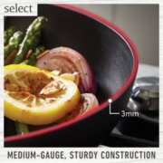 Select by Calphalon™ Hard-Anodized Nonstick 3.5-Quart Saute Pan with Cover image number 2