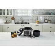 Crockpot™ Express Easy Release   6 Quart Slow, Pressure, Multi Cooker, 6QT, Stainless Steel image number 1