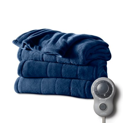 Microplush Heated Blanket with Dial Controller