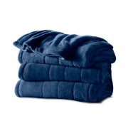 Sunbeam® Microplush Heated Blanket with Dial Controller image number 0