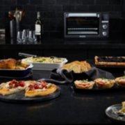 Calphalon Quartz Heat Countertop Oven, Dark Stainless Steel image number 9