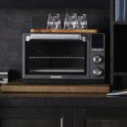 Calphalon Quartz Heat Countertop Oven, Dark Stainless Steel image number 2