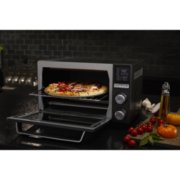 Calphalon Quartz Heat Countertop Oven, Dark Stainless Steel image number 4