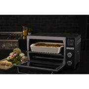 Calphalon Quartz Heat Countertop Oven, Dark Stainless Steel image number 5
