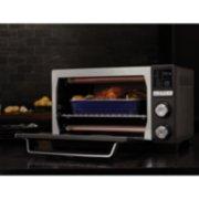 Calphalon Quartz Heat Countertop Oven, Dark Stainless Steel image number 7