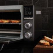 Calphalon Quartz Heat Countertop Oven, Dark Stainless Steel image number 8