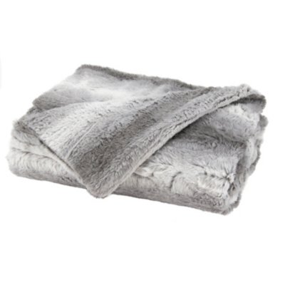 Sunbeam® Faux Fur Heated Throw