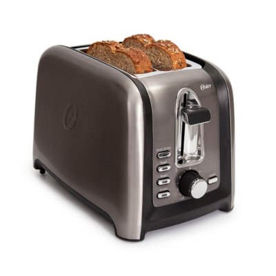 Oster® Black Stainless Collection 2-Slice Toaster