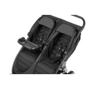 City mini 2 double stroller with 1 child tray folded out image number 1