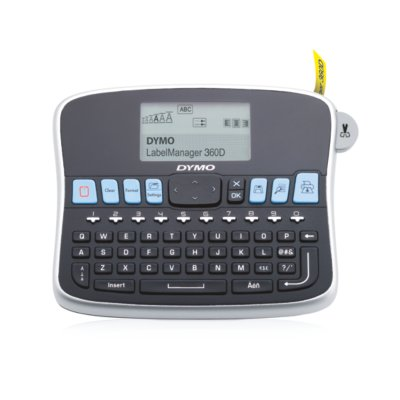 DYMO LabelManager 360D Rechargeable Hand-Held Label Maker