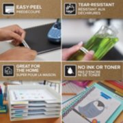 easy-peel, tear resistant, great for the home, no ink or toner image number 2
