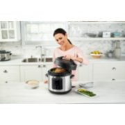 Crockpot™ Express Easy Release | 6 Quart Slow, Pressure, Multi Cooker, 6QT, Stainless Steel image number 5