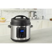 Crockpot™ Express Easy Release | 6 Quart Slow, Pressure, Multi Cooker, 6QT, Stainless Steel image number 2