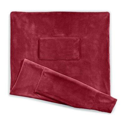 Sunbeam® Microplush Deluxe Dual Pocket Heated Throw
