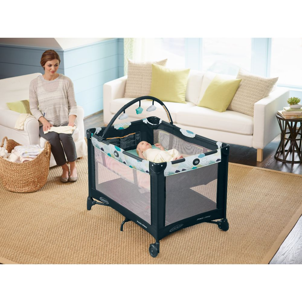 Graco Pack N Play On The Go Playard With Bassinet Graco Baby