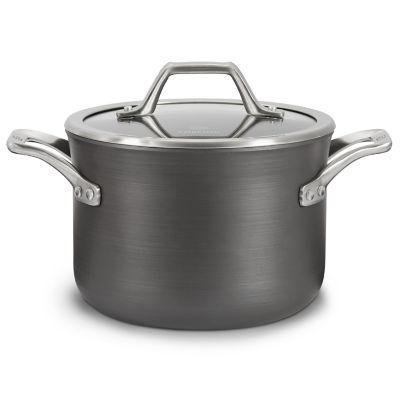 Calphalon Signature™ Hard-Anodized Nonstick 4-Quart Soup Pot with Cover