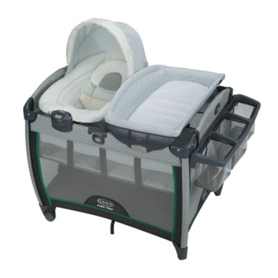 Pack 'n Play® Quick Connect™ Playard with  Portable Bouncer Bassinet