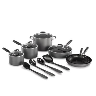 Select by Calphalon™ Hard-Anodized Nonstick Pots and Pans, 14-Piece Cookware Set