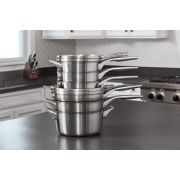 Calphalon Premier™ Space-Saving Stainless Steel 10-Piece Set image number 8