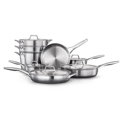 Calphalon Premier™ Stainless Steel 13-Piece Set