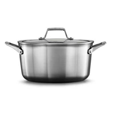 Calphalon Premier™ Stainless Steel 6-Quart Stock Pot